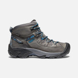 KEEN Men's Targhee II Waterproof Boot- Steel Grey / Mykonos Blue - 1024647 - Profile