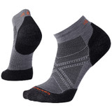 Smartwool Men's PhD® Run Light Elite Low Cut Socks - Graphite - SW0SW243018- Main