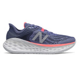 New Balance Women's Fresh Foam More v2 - Magnetic Blue with Guava - WMORPP2 - Profile