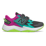 New Balance Grade School Rave Run - Black/Poisonberry/Lime Go - ptravbm - Profile