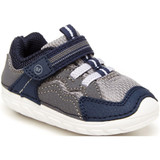 Stride Rite Soft Motion Kylo Sneaker - Navy/Gray - BB014401 - Angle
