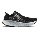 New Balance Women's Fresh Foam 1080v11 - Black with Thunder  - W1080B11 - Profile