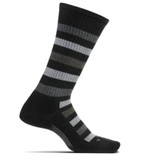 Feetures Men's Everyday Atherton Crew Socks - Charcoal
