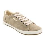 Taos Footwear Women's Star - Khaki Wash Canvas - STA-12844-KWC - Angle