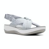 Clarks Women's Arla Belle Sandal - Grey  - 26143190 - Angle