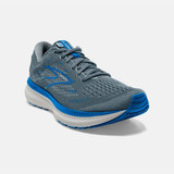Brooks Men's Glycerin 19 - Quarry / Grey / Dark Blue - Angle