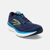 Brooks Men's Glycerin GTS 19 - Navy / Blue / Nightlife - Angle