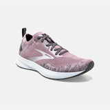Brooks Women's Levitate 4 - Blackened Pearl/Metallic/Primrose - 120335-032 - Angle