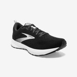 Brooks Women's Revel 4 - Black / Oyster / Silver - 120337-063 - Main