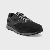 Brooks Men's Addiction Walker Suede - Black / Primer / Black - Angle 1
