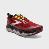 Brooks Men's Caldera 5 - Red / Black / Nightlife - 110354-631 - Angle