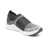 Aetrex Women's Allie Arch Support Sneaker - Black Ombre - AS123 - Angle