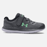 Under Armour Pre-School Charged Impulse - Pitch Grey / Mod Grey - 3022941-105 - Profile