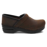 Dansko Men's Professional Clog - Antique Brown and Black - 299-780202 - Profile 1