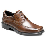 ECCO Men's Helsinki Bicycle Oxford Tie - Cocoa Brown - 50104-01482 - Angle