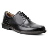 ECCO Men's Holton Apron Toe Tie - Black - 621114-01001 - Angle