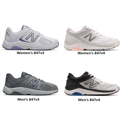 New in Town: Comparing the New Balance 847v3 and 847v4