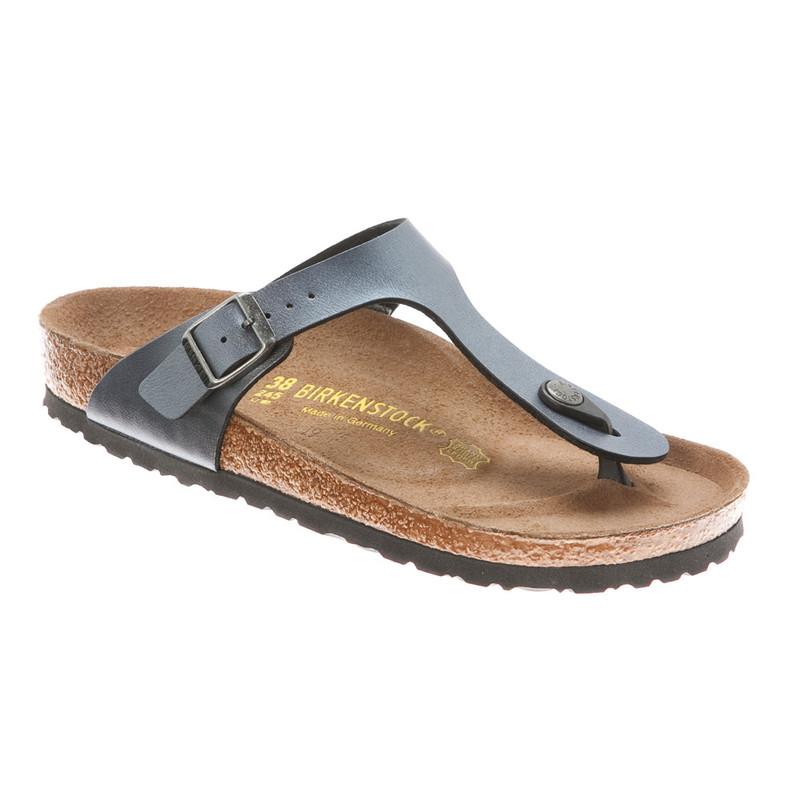 Birkenstock Women's Gizeh Cork Footbed Thong Sandal Onyx 36