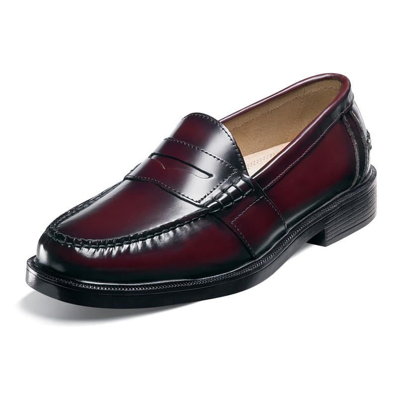 9d50e15dd07 Nunn Bush Lincoln - Burgundy - ShoeStores.com