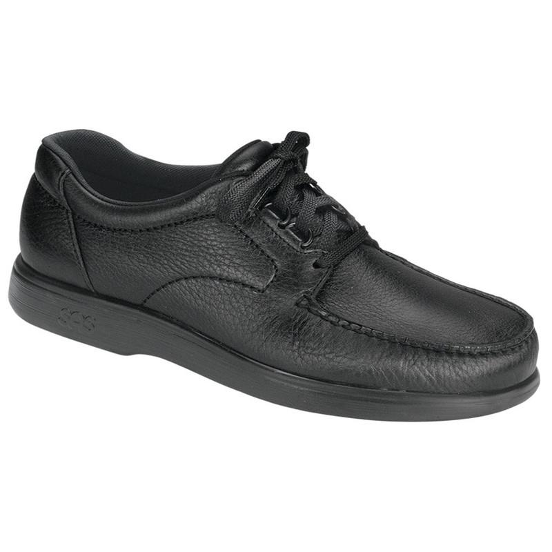 c4119cc57f SAS Bout Time - Black - ShoeStores.com