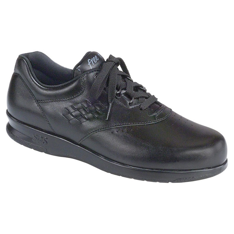 Womens Sas Tripad Comfort Free Time Black 7.5 Ww Extra Wide Lace Up Shoes Clothing, Shoes & Accessories Women's Shoes