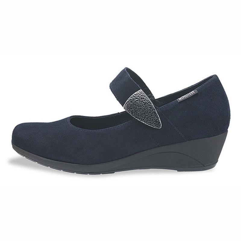 500899c532 ShoeStores.com - Mephisto Kimona - Navy Velcalf