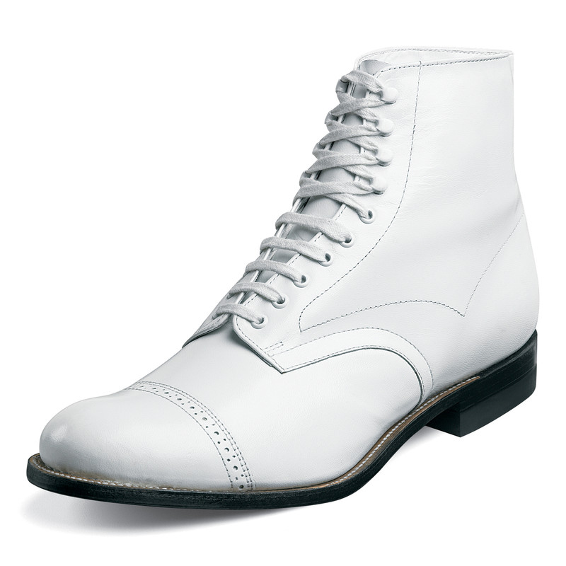 Stacy Adams Madison Boot - White