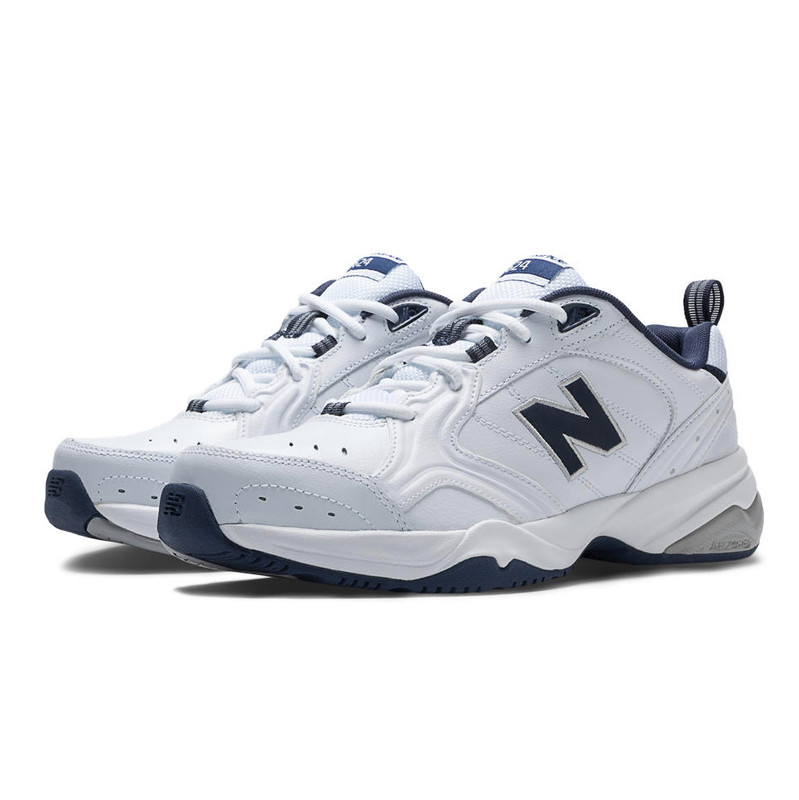 new product 2dfd0 647a7 New Balance 624 Men s Cross Training - White   Navy - Hero Image ...