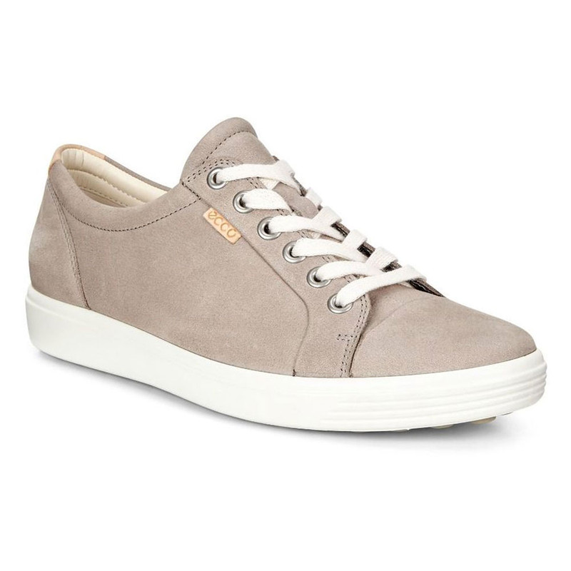 ECCO Women's Soft 7 Sneaker - Warm Grey - 430003-02375 - Angle