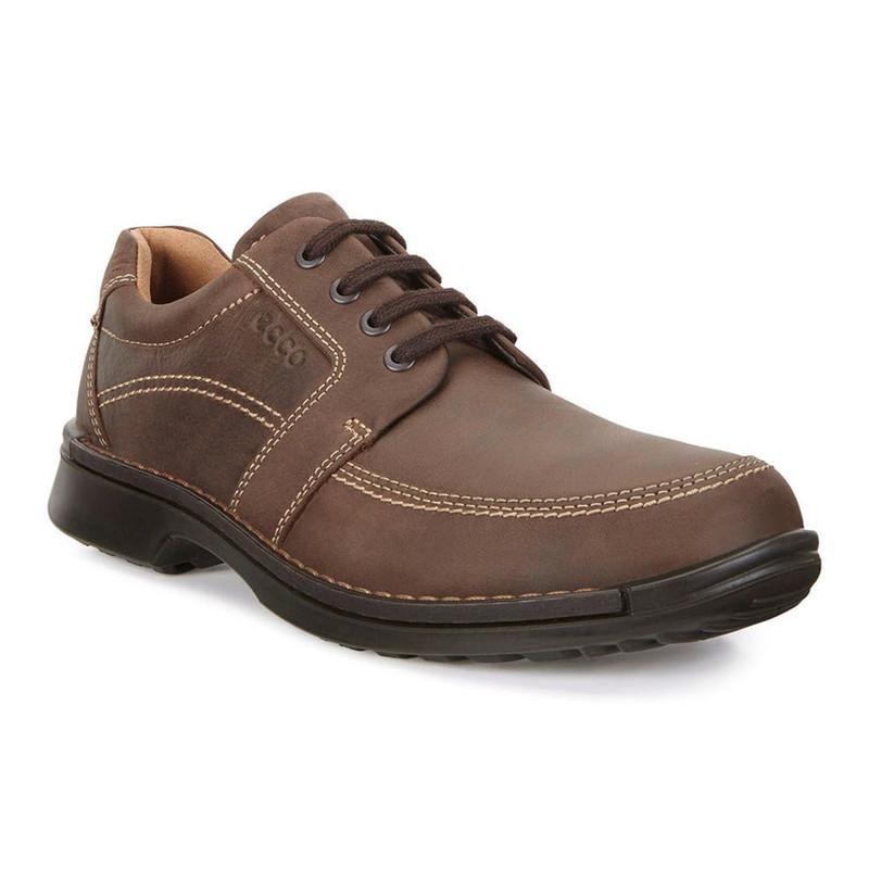 Ecco Fusion II Tie - Cocoa - ShoeStores.com