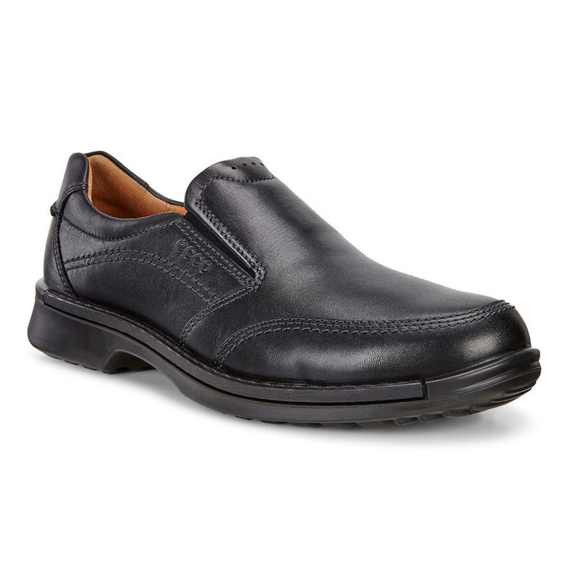 ECCO Men's Fusion II Slip-On - Black - 500114-01001 - Angle