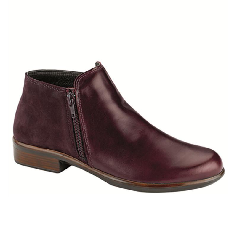 90ad088c510 Naot Women s Helm - Bordeaux Leather   Violet Nubuck