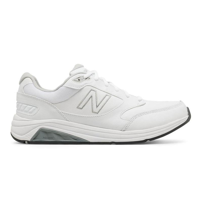 New Balance 928v3 Men's Walking - White Leather - MW928WT3 - Profile Image