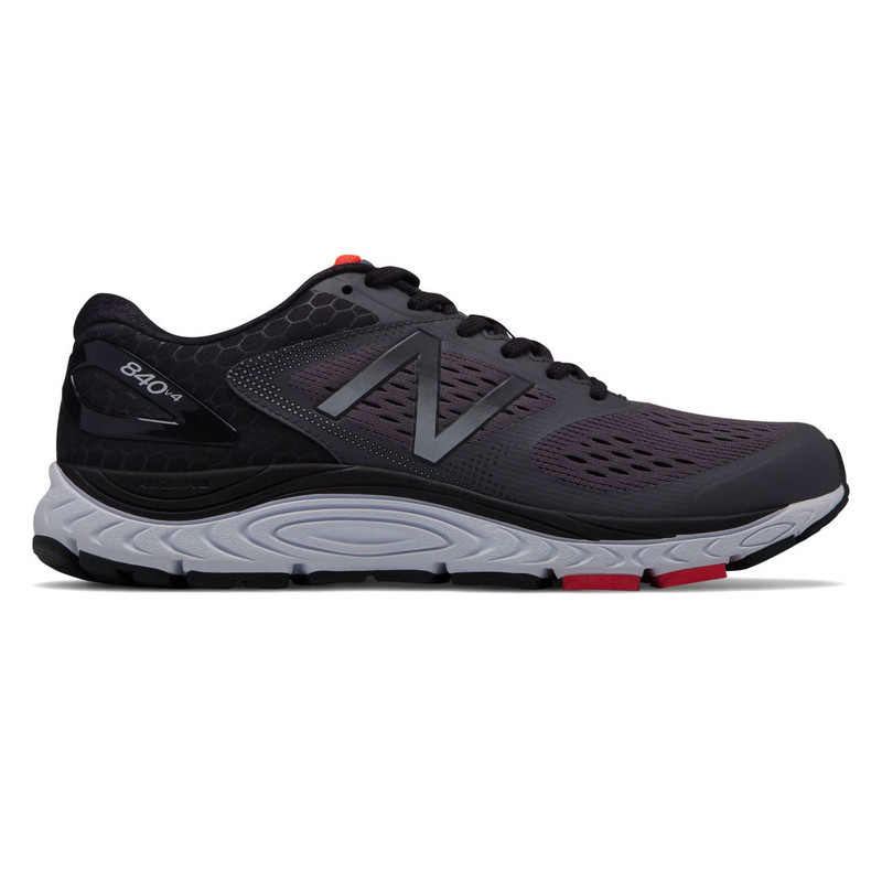 the best attitude 32735 a1aa8 New Balance 840v4 Men's Running - Magnet with Energy Red