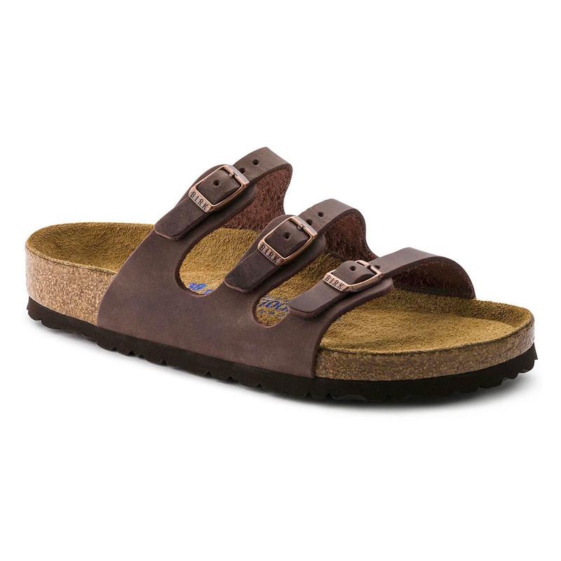 20d780515c60 Birkenstock Women s Florida Soft Footbed - Habana Oiled Leather (Regular  Width)
