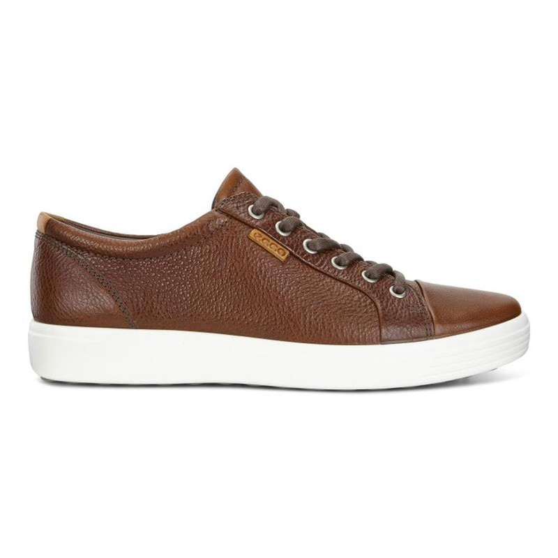 ec9efb9c28 ECCO Men's Soft 7 Sneaker - Whisky