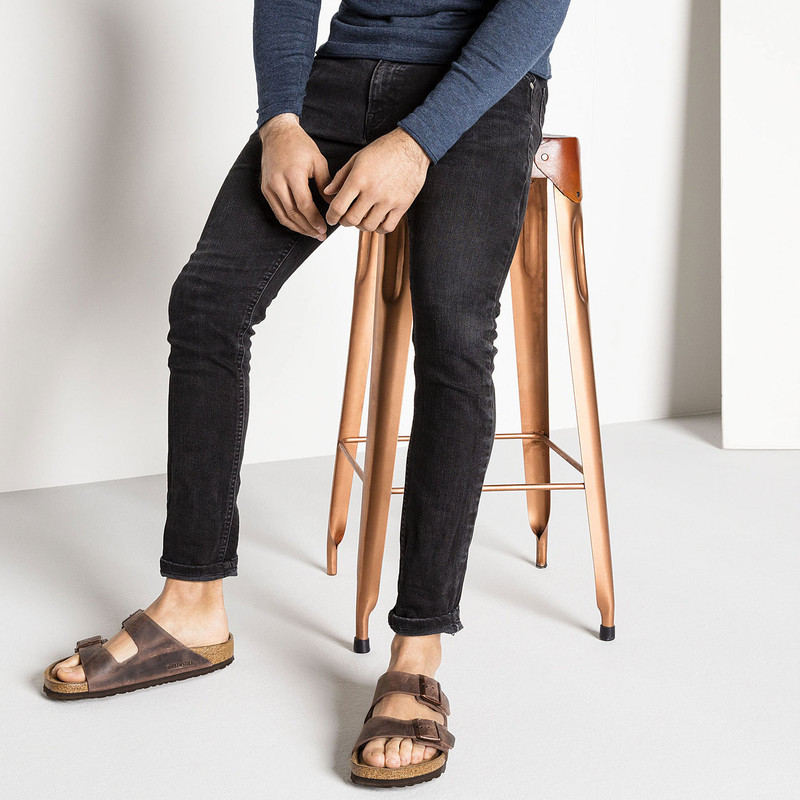 c59c2bf29712 ... Birkenstock Arizona Soft Footbed - Habana Oiled Leather (Regular Width)  - 452761 - Lifestyle