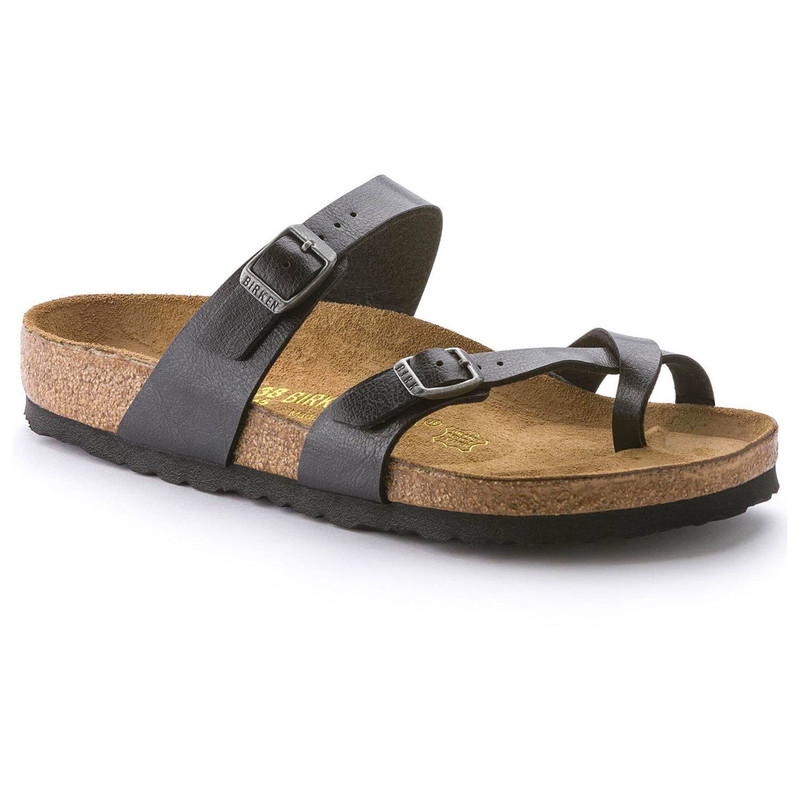 Birkenstock Women's Mayari - Graceful Licorice Birko-Flor - 171391 - Angle
