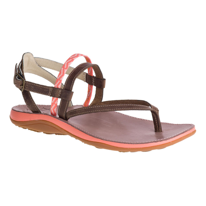 Chaco Women's Loveland - Stepped Peach - J106436 - Angle
