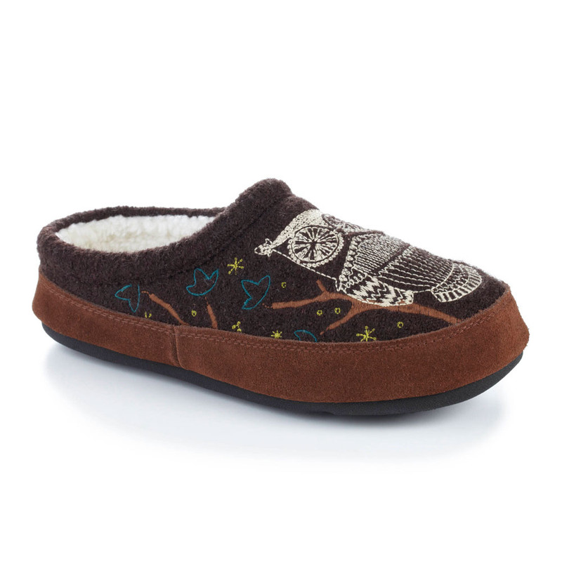 Acorn Women's Forest Mule Slipper - Chocolate (A10077/CHO) - Profile
