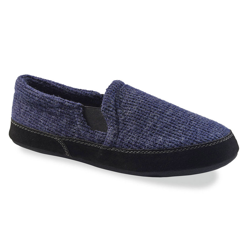 Acorn Men's Fave Gore Slipper - Navy Knit (A11172/NKN) - Profile