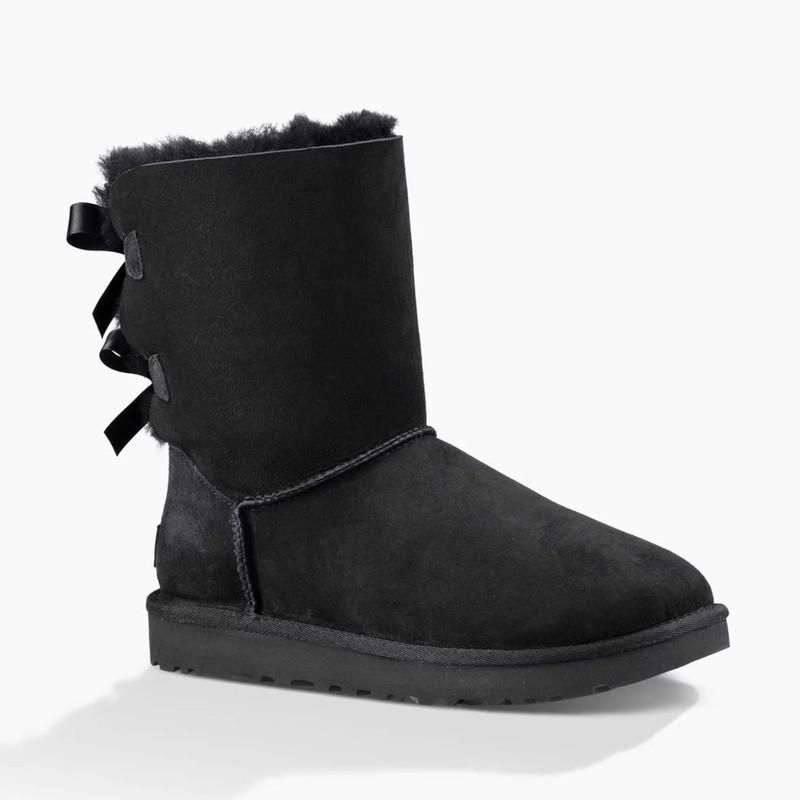 412079290 ShoeStores.com   UGG Bailey Bow II - Black