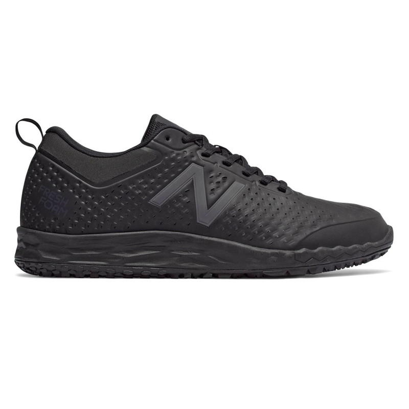 New Balance Men's 806 Fresh Foam Slip Resistant - Black - MID806K1 - Profile Image