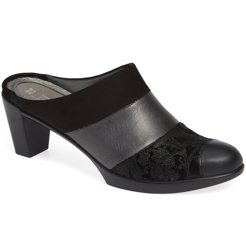 Naot Women's Fortuna Mule - Black -14041- NKX - Main Image