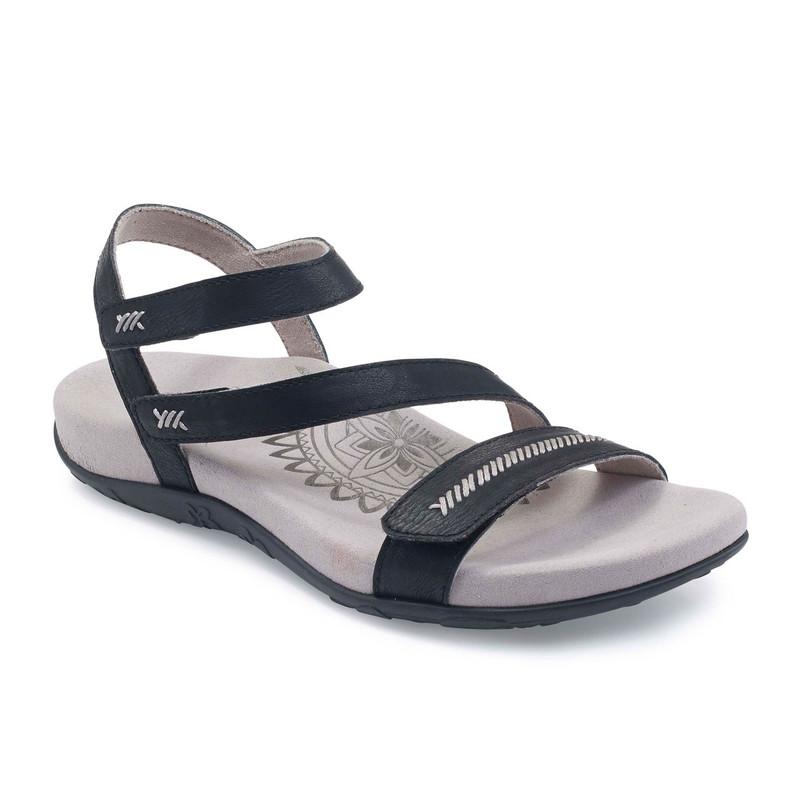 f7c82188e180 Aetrex Women s Gabby Adjustable Sandal - Black