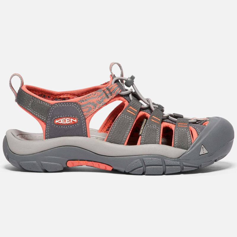 Keen Women's Newport Hydro - Magnet / Coral - 1018947 - Profile