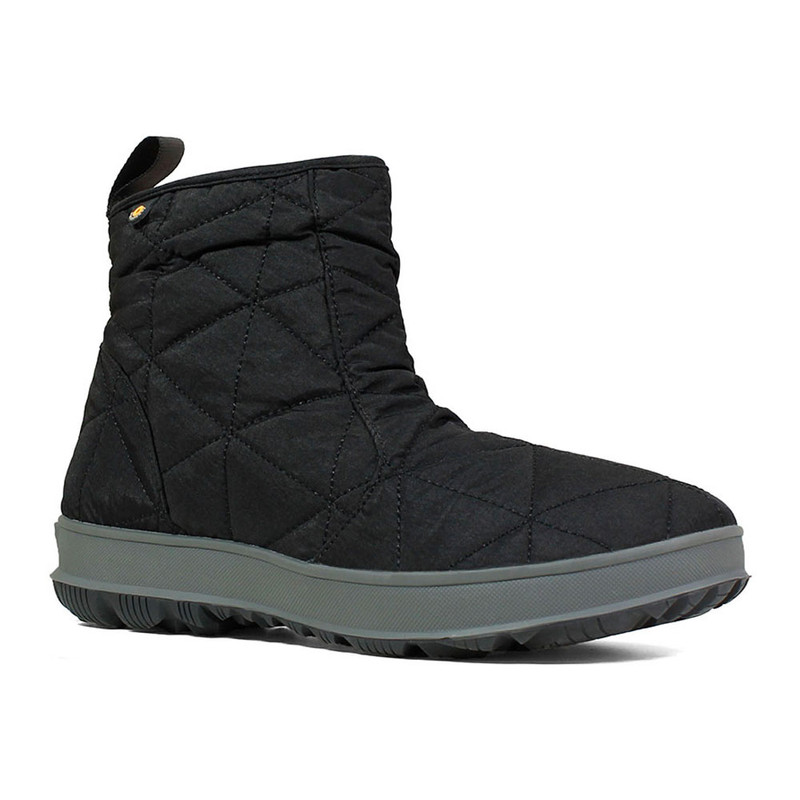 Bogs Women's Snowday Low - Black - 72239-001 - Angle