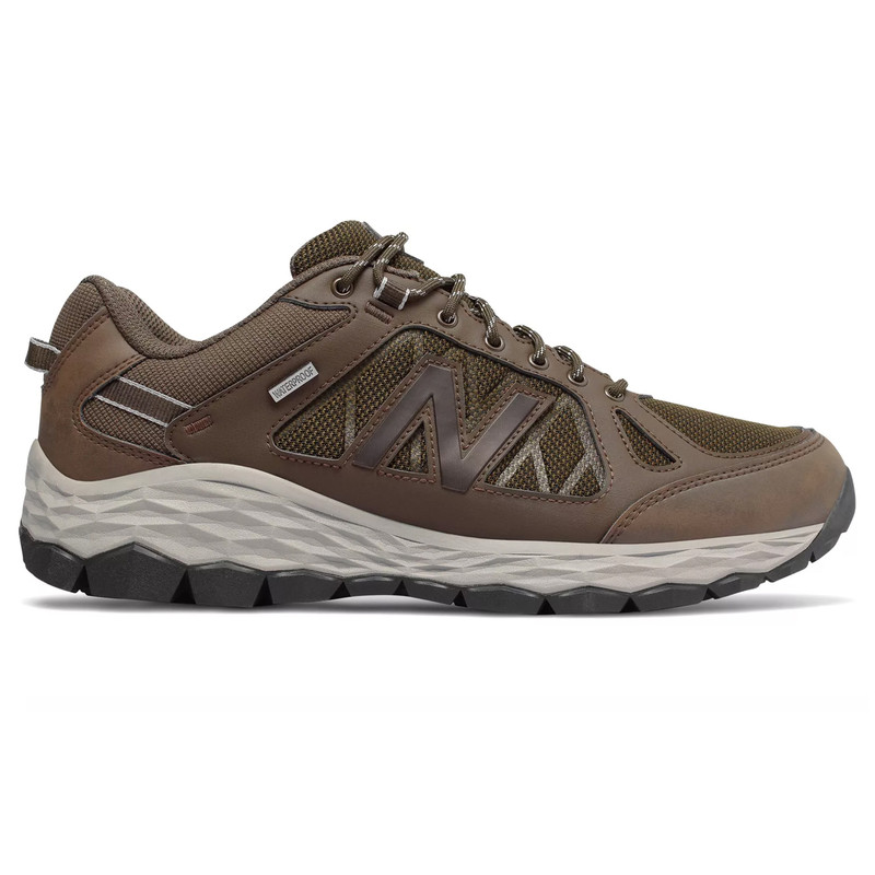 New Balance Men's 1350 Trail Walking - Brown / Team Away Grey - MW1350WC - Profile Image