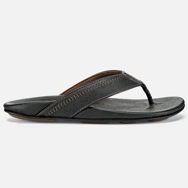 4e18b8323 Olukai Men s Hiapo Sandal - Black   Black ...