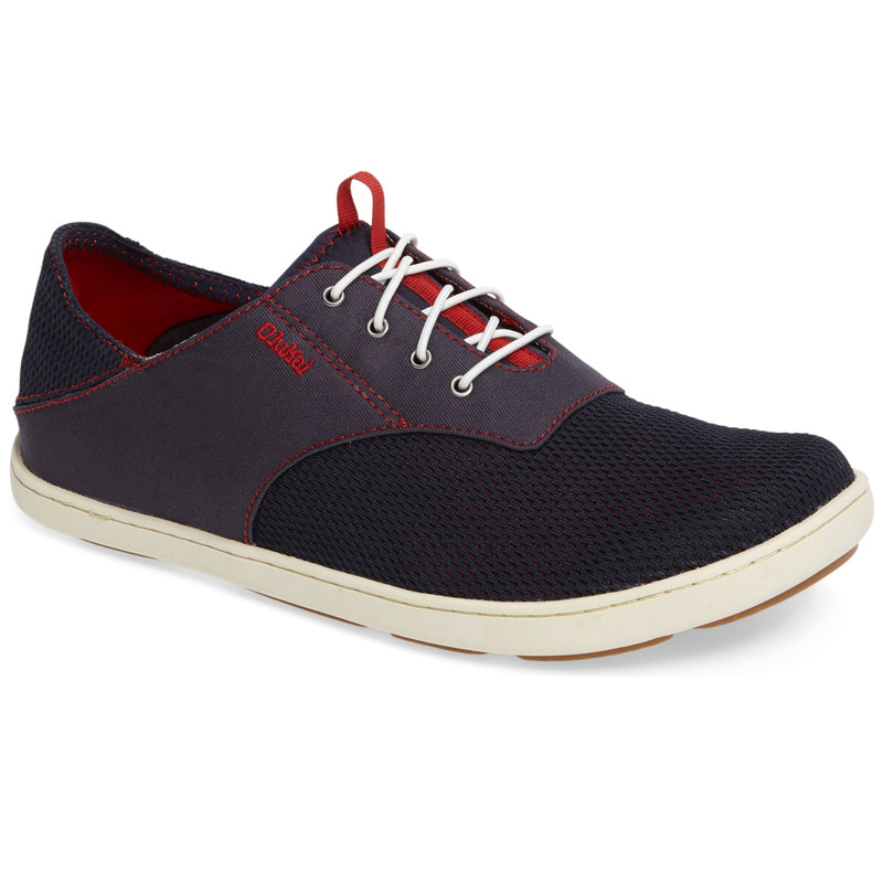Olukai Men's Nohea Moku - Trench Blue / Deep Red - 10283-DE43 - Main